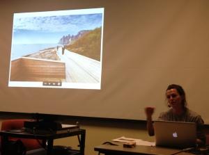 """Sara Hendren, """"Ramping"""" (Intervention in Exhibit R)"""