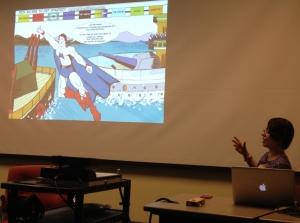 "Sarah Zaidan, ""Animating"" (Intervention in Exhibit A)"